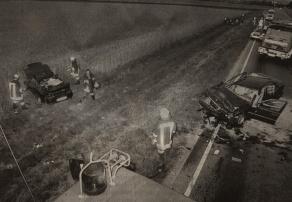 Ende eines riskanten Überholmanövers: Auf der B10 zwischen Günzburg und Leipheim kam am Dienstagabend ein 27-Jähriger ums Leben