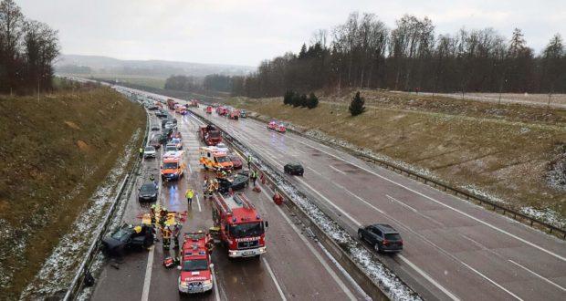 Unfälle Autobahn Heute